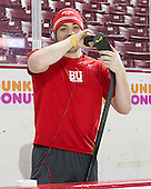 Garrett Noonan (BU - 13) - The Boston College Eagles defeated the visiting Boston University Terriers 5-2 on Saturday, December 1, 2012, at Kelley Rink in Conte Forum in Chestnut Hill, Massachusetts.