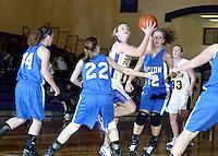Girls Basketball JV vs. Tipton 1-17-09