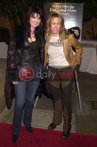 Meredith Brooks and Sheryl Crow