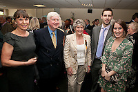Pictured from left are Deborah and Peter Winter, President's Lady Jan Stevenson, Dan Green and Victoria Stevenson