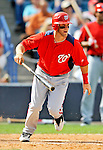 5 March 2011: Washington Nationals' outfielder Bryce Harper in action during a Spring Training game against the New York Yankees at George M. Steinbrenner Field in Tampa, Florida. The Nationals defeated the Yankees 10-8 in Grapefruit League action. Mandatory Credit: Ed Wolfstein Photo