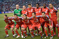 Toronto FC starting eleven. The LA Galaxy and Toronto FC played to a 0-0 draw at Home Depot Center stadium in Carson, California on Saturday May 15, 2010.  .