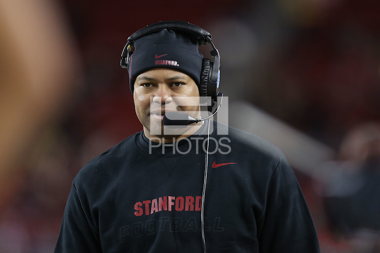 SANTA CLARA, CA - The Stanford Cardinal defeats Maryland 45-21 at the 2014 Foster Farms Bowl at Levi's Stadium on Tuesday, December 30, 2014.