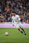 Marco Asensio Willemsen of Real Madrid in action during their Copa del Rey Round of 16 match between Real Madrid and Sevilla FC at the Santiago Bernabeu Stadium on 04 January 2017 in Madrid, Spain. Photo by Diego Gonzalez Souto / Power Sport Images