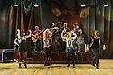 "Dundee, UK. 01.09.2016. Dundee Rep Theatre presents ""The Cheviot, The Stag and the Black, Black Oil"" by  John McGrath,  directed by Associate Artistic Director, Joe Douglas. Picture shows:  Stephen Bangs, Jo Freer, Christina Gordon, Barrie Hunter, Emily Winter, Alasdair Macrae, Ewan Donald, Christina Gordon, Calum Macdonald, Irene Macdougall. Photograph © Jane Hobson."