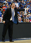 Head coach John Calipari during Kentucky's win over Florida in the championship of the 2011 SEC Men's Basketball Tournament, at the Georgia Dome, Sunday, March 13, 2011.  Photo by Latara Appleby | Staff