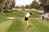 March 26, 2005; Rancho Mirage, CA, USA;  15 year old amateur Michelle Wie tees off at the 17th hole during the 3rd round of the LPGA Kraft Nabisco golf tournament held at Mission Hills Country Club.  Wie shot a 1 over par 73 for the day and was tied for 21st at one over par 217.<br />