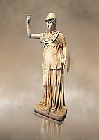 Roman marble sculpture of Athena, inv 6321, Museum of Archaeology, Italy