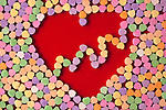 Valentine Candy Heart Shapes