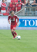 July 20, 2013: Toronto FC midfielder Bobby Convey #15 in action during a game between Toronto FC and the Columbus Crew at BMO Field in Toronto, Ontario Canada.<br /> Toronto FC won 2-1.