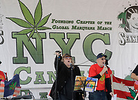 Union Square, New York, USA, May 06 2017 - The Temple Dragon Band with Fantuzzi participated on the annual NYC Cannabis Parade &amp; Rally in support of the legalization of the herb for recreational and medical use today in New York City. <br /> Photo: Luiz Rampelotto/EuropaNewswire | usage worldwide /MediaPunch ***FOR USA ONLY***