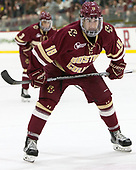 Colin White (BC - 18) - The Harvard University Crimson defeated the visiting Boston College Eagles 5-2 on Friday, November 18, 2016, at Bright-Landry Hockey Center in Boston, Massachusetts.{headline] - The Harvard University Crimson defeated the visiting Boston College Eagles 5-2 on Friday, November 18, 2016, at Bright-Landry Hockey Center in Boston, Massachusetts.