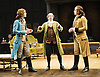 She Stoops to Conquer<br /> by Oliver Goldsmith <br /> directed by James Lloyd<br /> at the Olivier Theatre, Southbank, London, Great Britain <br /> 30th January 2012<br /> <br /> John Heffernan (as Hastings)<br /> Steve Pemberton (as Mr Hardcastle)<br /> Harry Haddon Paton (as Marlow)<br /> <br /> <br /> <br /> Photograph by Elliott Franks