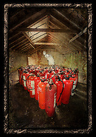 Fire extinguishers at West Park Asylum