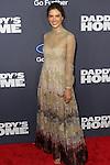 Victoria's Secret Ange Model and Actress Alessandra Ambrosio Wearing a Valentino dress at Paramount Pictures and Red Granite Pictures presents the New York Premiere of Daddy's Home sponsored by Ford Motor Company held at AMC Lincoln Square