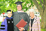 Sally Dayton Clement, ''71, Trustee, with my mother, former Trustee Mary Lee Dayton, '46, and graduating son, Winston Wallace Clement, '09