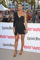 MIAMI BEACH, FL - MAY 13: Stephanie Holden attends the Baywatch Movie Premiere at Lummus Park on May 13, 2017 in Miami Beach, Florida. Credit: mpi04/MediaPunch