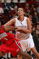 STANFORD, CA - DECEMBER 13:  Ashley Cimino of the Stanford Cardinal during Stanford's 100-62 win over the Fresno State Bulldogs on December 13, 2008 at Maples Pavilion in Stanford, California.