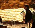 Jim Caviezel at the Grotto, October 2005