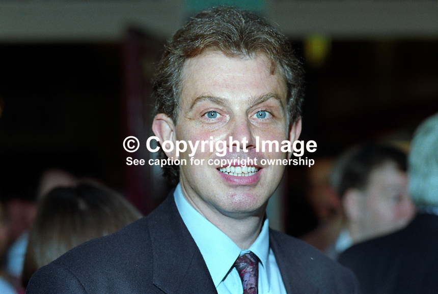 Tony Blair, MP, Labour Party, politician, UK, 19921018TB.<br /> <br /> Copyright Image from Victor Patterson, 54 Dorchester Park, Belfast, UK, BT9 6RJ<br /> <br /> t1: +44 28 9066 1296 (from Rep of Ireland 048 9066 1296)<br /> t2: +44 28 9002 2446 (from Rep of Ireland 048 9002 2446)<br /> m: +44 7802 353836<br /> <br /> e1: victorpatterson@me.com<br /> e2: victorpatterson@gmail.com<br /> <br /> www.victorpatterson.com<br /> <br /> IMPORTANT: Please see my Terms and Conditions of Use at www.victorpatterson.com