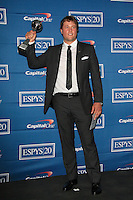 LOS ANGELES - JUL 11:  Matthew Stafford in the Press Room of the 2012 ESPY Awards at Nokia Theater at LA Live on July 11, 2012 in Los Angeles, CA