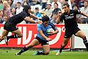 Tatsuhiko Otao (YAMAHA), November 5, 2011 - Rugby : Japan Rugby Top League 2011-2012, 2nd Sec match between Ricoh Black Rams 17-45 YAMAHA Jubilo at Chichibunomiya Rugby Stadium, Tokyo, Japan. (Photo by Daiju Kitamura/AFLO SPORT) [1045]