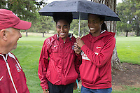 STANFORD, CA - May 7, 2016:  Stanford hosts  the NCAA Stanford Regional Championships at Stanford Golf Course.  Stanford tied for first with USC.