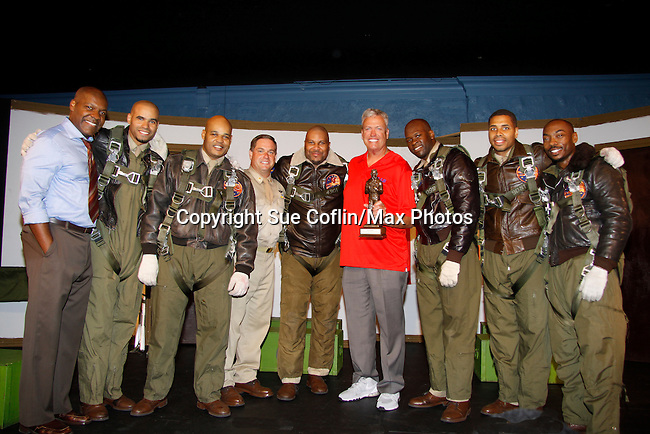 09-08-15 Rex Ryan takes Buffalo Bills to see Black Angels Over Tuskegee - private show