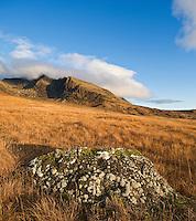 Black Cuillin hills as seen from Glenbrittle, Isle of Skye, Scotland