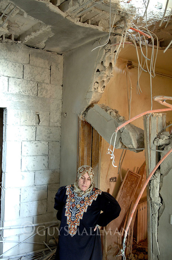A residential address destroyed by Israeli bombing during the 33 day war.