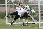 21 August 2009: Sky Blue's Cori Alexander. Sky Blue FC held a training session at the Home Depot Center in Carson, California one day before playing Los Angeles Sol in the inaugural Women's Professional Soccer Championship Game.