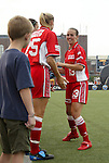 2 August 2003: Heather Mitts (13). The Philadelphia Charge defeated the Atlanta Beat 3-0 at Villanova Stadium in Villanova, PA in a regular season WUSA game.