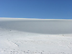 Gypsum dunes at White Sands National Monument in southern New Mexico.