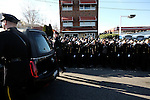 12,27,2014. Yunghi Kim/Contact Press Images. New York Funeral for Rafael Ramos in Queens, N.Y. Officer Ramos and his partner, Wenjian Liu, were shot and killed in their patrol car by Ismaaiyl Brinsley in the Bedford-Stuyvesant.