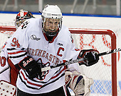 Tyler McNeely (Northeastern - 94) is serving as captain for a second season. - The visiting Rensselaer Polytechnic Institute Engineers tied their host, the Northeastern University Huskies, 2-2 (OT) on Friday, October 15, 2010, at Matthews Arena in Boston, MA.