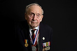 Mcc0061161 . Daily Telegraph<br /> <br /> Telegraph Magazine<br /> <br /> D Day Veterans<br /> <br /> Cecil Newton who served as a Trooper in 'B' Squadron, 4th/7th Royal Dragoon Guards on D-Day landing at Sword beach in an amphibious Sherman tank . <br /> <br /> 24 March 2015