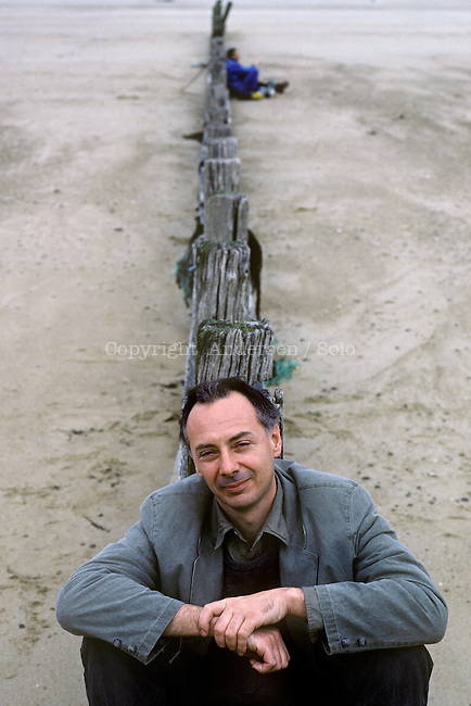 Nigel Barley photographed in 1992.