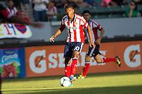CARSON, California - September 8, 2013: CD Chivas USA defeated D.C United 1-0 during a Major League Soccer (MLS) game at StubHub Center stadium.
