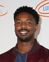 LOS ANGELES, CA - SEPTEMBER 21: Michael B. Jordan attends the Get Lucky for Lupus LA Celebrity Poker Tournament at Avalon on September 21, 2016 in Los Angeles, California. (Credit: Parisa Afsahi/MediaPunch)