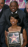 Angela Bassett and  Forest Whitaker.Angela Bassett Receives a Star on the Hollywood Walk of Fame.Hollywood Boulevard.Los Angeles, CA.March 20, 2008.©2008 Kathy Hutchins / Hutchins Photo