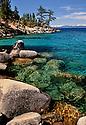Clear Water Lake Tahoe East Shore