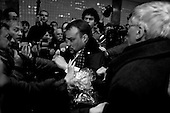 Moscow, Russia<br /> March 31, 2010<br /> <br /> After placing flowers at the Park Kultura subway station where 12 people where killed by a terrorist bomb the day before Ludmila Alexeeva, 82 is struck in the head by Konstantin Pereverzev 31 year old Orthodox Patriot who yelled, &quot;Are you still alive bitch&quot;, before hitting her.<br /> <br /> She is Chair of the Moscow Helsinki Group, is the doyenne of Russia's human rights community. Thirty years ago, she was one of the original Soviet-era dissidents who spoke out against repression. Today, she is not afraid to raise her voice in the renewed fight for rights in Russia, including criticizing policies on hate crimes as well as the war in Chechnya, and is a mentor to the new generation of dissidents. Alexeeva published the seminal book Soviet Dissent in 1985. She also served as President of the International Helsinki Federation for Human Rights - an umbrella group of human rights organizations from 38 countries -- from 1999 to 2004.