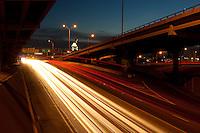 Austin Interstate Traffic at Night