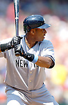 18 June 2006: Bernie Williams, outfielder for the New York Yankees, in action against the Washington Nationals at RFK Stadium, in Washington, DC. The Nationals defeated the Yankees 3-2 in the third game of the interleague series...Mandatory Photo Credit: Ed Wolfstein Photo...