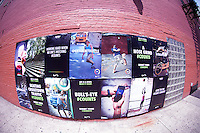 A Nike ad seen in Soho in New York on Saturday, May 26, 2012.  (© Frances M. Roberts)