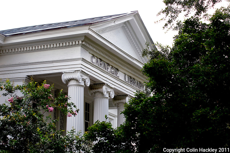 BLACK ARCHIVES: A comprehensive collection of African-American history is housed in the Carnegie Library building, the oldest brick building on the campus of Florida A&M University in Tallahassee..COLIN HACKLEY PHOTO