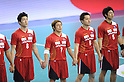Daisuke Miyazaki and team group (JPN), OCTOBER 31, 2011 - Handball : Daisuke Miyazaki of Japan plays during the Asian Men's Qualification for the London 2012 Olympic Games semifinal match between Japan 22-21 Saudi Arabia in Seoul, South Korea.  (Photo by Takahisa Hirano/AFLO)