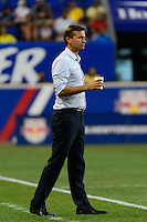 Harrison, NJ - Wednesday July 06, 2016: Jesse Marsch during a friendly match between the New York Red Bulls and Club America at Red Bull Arena.