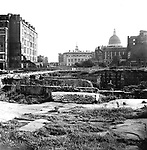 St Pauls after the bombing WWII