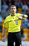 St Johnstone v Rangers... 30.07.11   SPL Week 2.Ref Alan Muir.Picture by Graeme Hart..Copyright Perthshire Picture Agency.Tel: 01738 623350  Mobile: 07990 594431